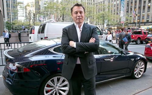 Бизнесмен Илон Маск