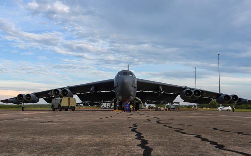 Бомбардировщик B-52H Stratofortress