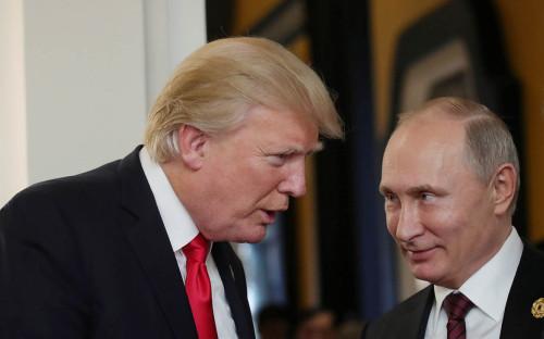 <p>Дональд Трамп и Владимир Путин</p>  <p></p>