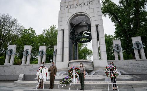 <div>Национальный мемориал Второй мировой войны в Вашингтоне</div>