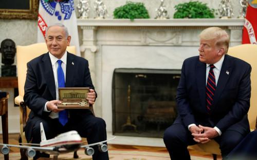Дональд Трамп и Биньямину Нетаньяху