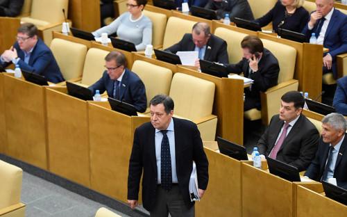 Председатель комитета Госдумы по бюджету и налогам Андрей Макаров