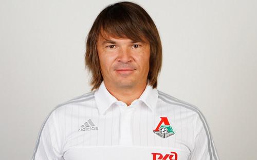 Представитель тренерского штаба «Локомотива» Дмитрий Лоськов