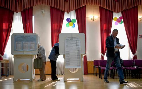 <p>Единый день голосования в Москве</p>  <p></p>