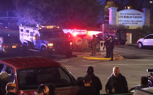 <p>Нападение на бар Borderline Bar&amp;Grill в городе&nbsp;Таузанд-Оукс&nbsp;произошло около полуночи по местному времени</p>