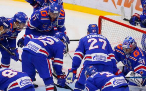 Фото:Хоккеисты СКА (Фото: Global Look Press)