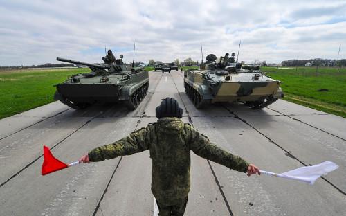 Боевые машины пехоты БМП-3