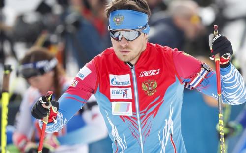 Российский биатлонистМатвей Елисеев