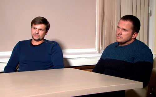 Руслан Боширов (слева) и Александр Петров