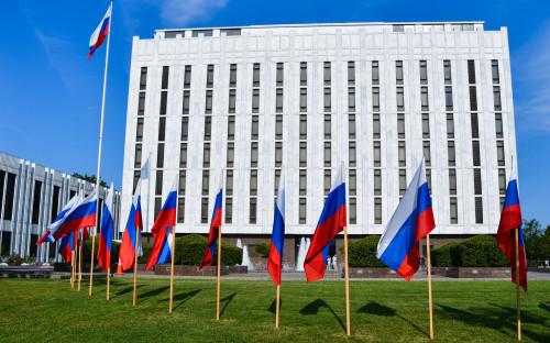 Здание посольства России в Вашингтоне