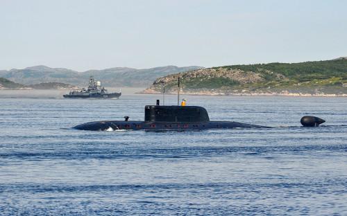 Атомная подводная лодка «Псков»
