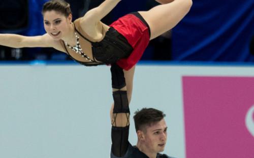 Фото: Анастасия Мишина и Александр Галлямов (Фото: AP)