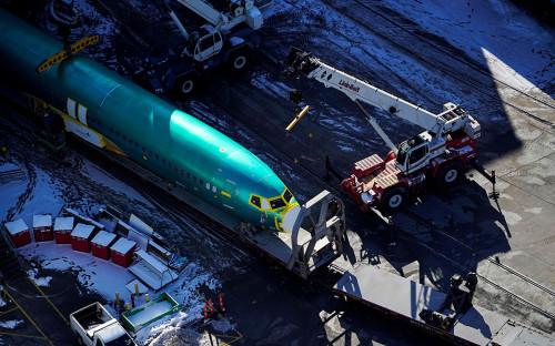 Фюзеляж самолета Boeing 737<br /> &nbsp;