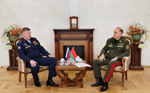 Андрей Сердюков и Александр Вольфович