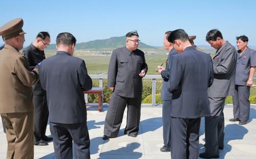 <p>Ким Чен&nbsp;Ын</p>  <p></p>  <p></p>