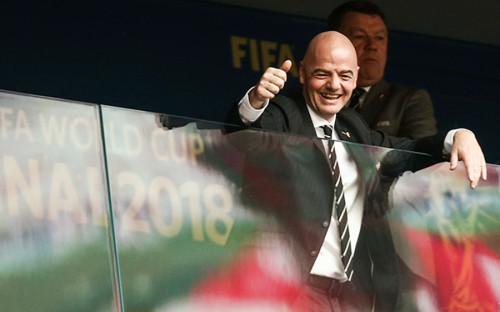 Глава FIFA Джанни Инфантино
