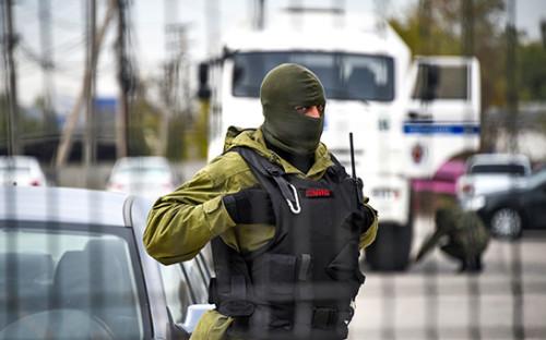 <p>Сотрудник&nbsp;ФСБ России в Крыму.&nbsp;2015 год</p>  <p></p>