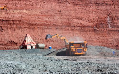 Добыча руды на месторождениикомпании «АГД-Даймондс»