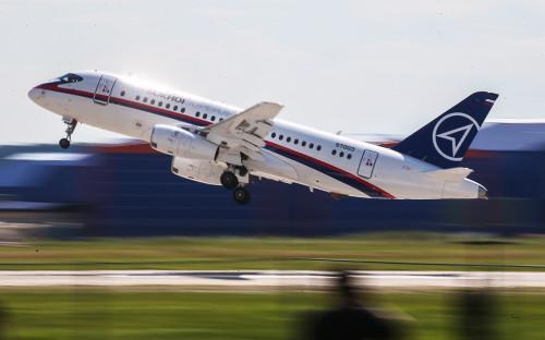 <p>Sukhoi Superjet-100</p>  <p></p>