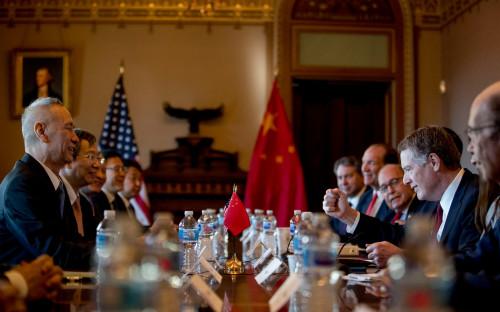 Переговоры представителей США и Китая 30 января в Белом доме