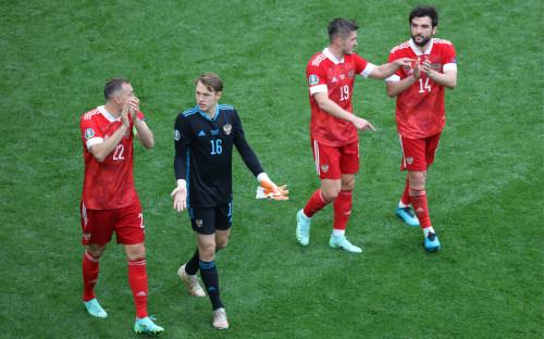 Фото: Игроки сборной России (Global Look Press)