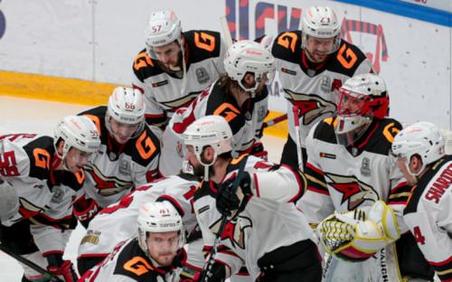 "Фото:Хоккеисты ""Авангарда"" (Фото: Global Look Press)"