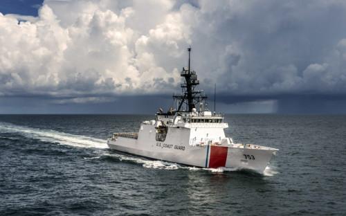 Патрульный катер береговой охраны США «Hamilton»