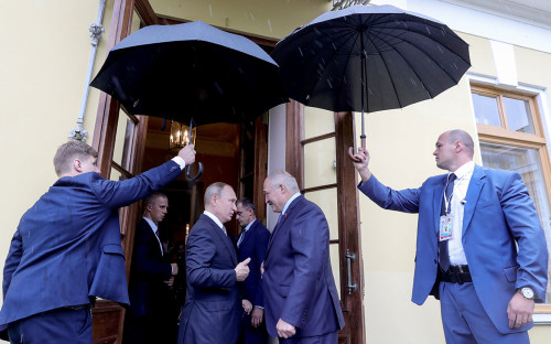 Встреча Владимира Путина и Александра Лукашенко, 2019 год
