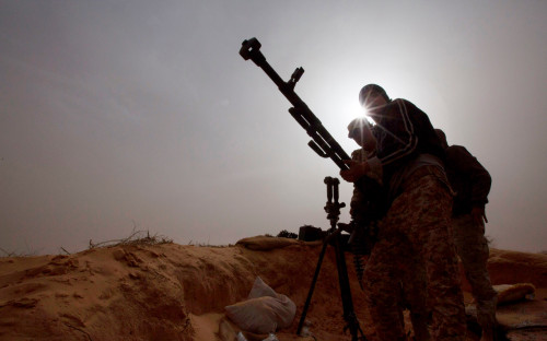 Силы правительства Ливии оттеснили армию Хафтара в Триполи