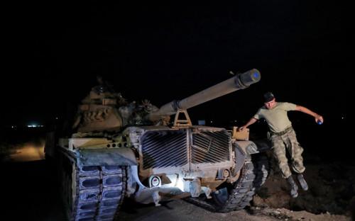 Эрдоган объявил о начале военной операции Турции в Сирии