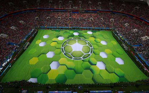 Церемония открытия ЧМ-2018 прошла на стадионе «Лужники» в Москве.