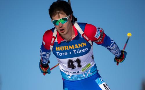 Биатлонист сборной России Матвей Елисеев