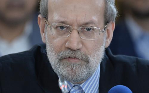 <p>Председатель Меджлиса Ирана Али Лариджани</p>