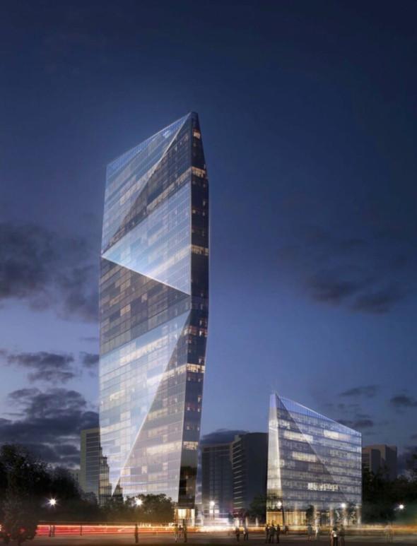 Построить комплекс зданий планируется за десять лет