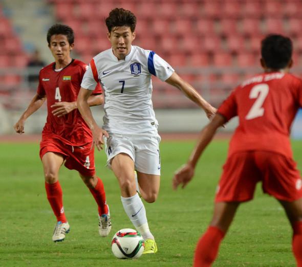 Южная Корея, 2-е место в группе А азиатского турнира
