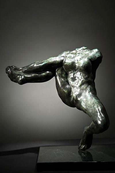 Огюст Роден. «Ирис — посланница богов», 1890–1891. Бронза
