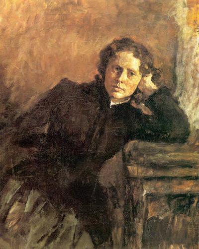 В.А. Серов «Портрет О. Трубниковой», 1885