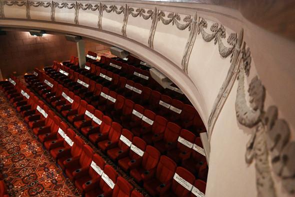 Большой зрительный зал кинотеатра «Художественный»