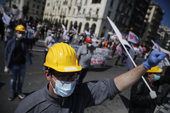 Фото: Dimitris Tosidis / EPA / ТАСС