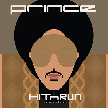 "Обложка альбома ""HITNRUN Phase Two"", 2015 г."