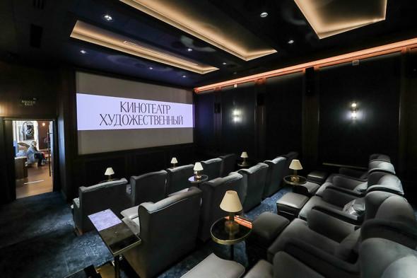 Зрительный зал кинотеатра «Художественный»
