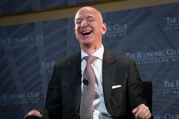Джефф Безос, основатель компании Amazon.
