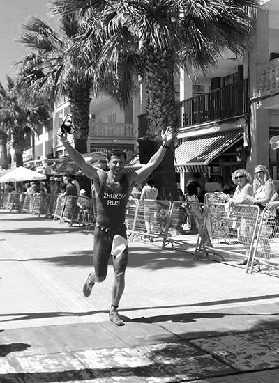 Александр Жуков, айронмен (Z3.TEAM), неоднократный участник различных этапов Ironman