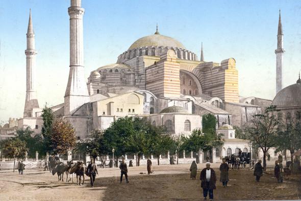 Снимок 1890–1900 годов. Фотохром