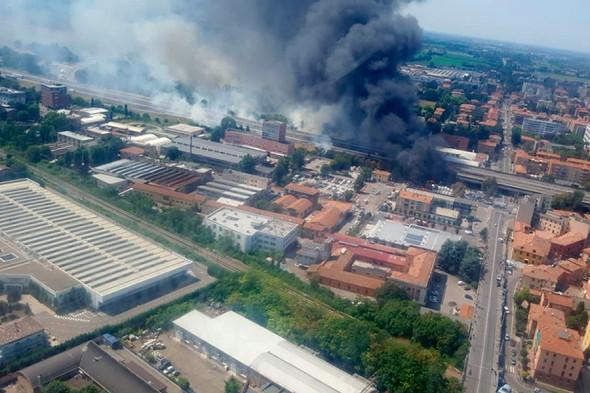 Фото: Vigili Del Fuoco via AP