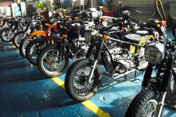 Фото:Пресс-служба ООО «Ирбитский мотоциклетный завод» / ТАСС