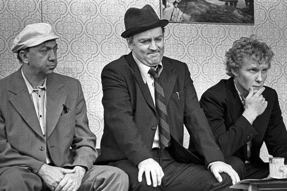 Спектакль Театра сатиры по пьесе Григория Горина «Феномены». 1979 год