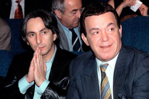 Умар Джабраилов и Иосиф Кобзон
