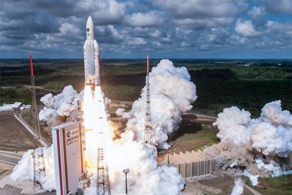 Фото:S. MARTIN / ESA/CNES/ARIANESPACE