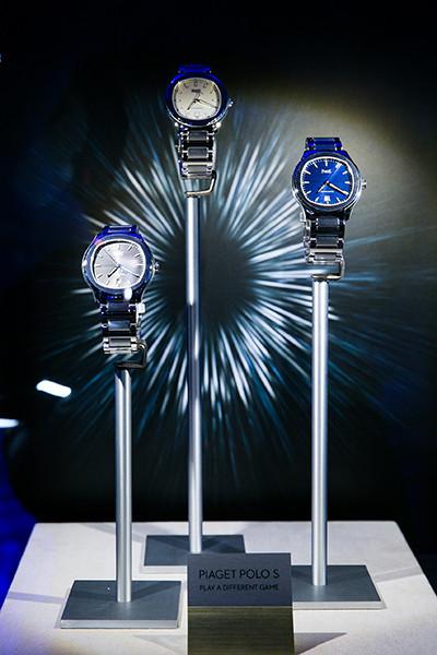 Стальные часы Piaget Polo S